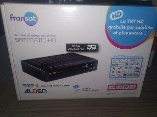 achat SATMATIC-HD ALDEN TNT CAMPING CAR PLAISIRS 89