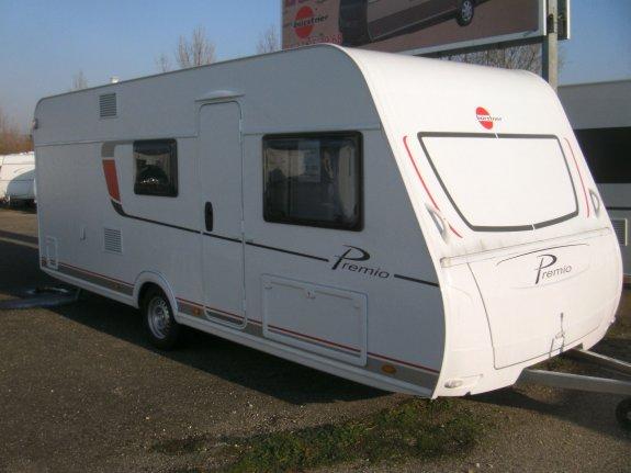 achat caravane / mobil home Burstner Premio 530 TK GROUPE MAES