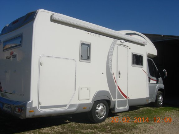 achat  Roller Team Garage P CENTRAL CAMPER