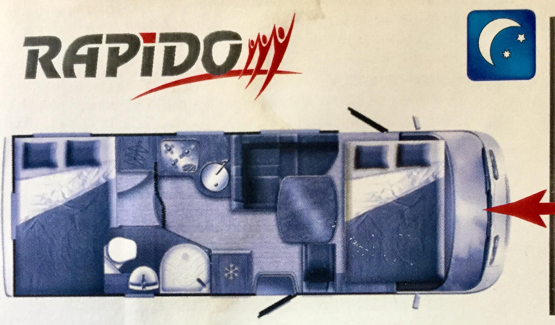 Rapido 9083 DF - 9
