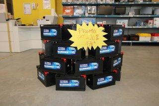 achat Batterie sans entretien 105 Ah VAL DE LOIRE CAMPINGCARS