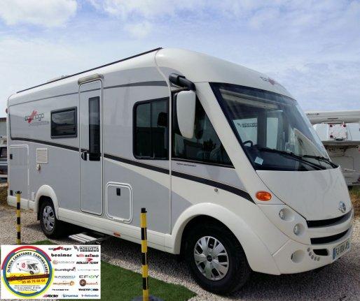 achat  Carthago Compact Line I 138 OLERON CARAVANES CAMPING CARS