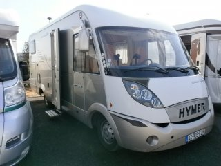 Hymer B 614 Exclusive Line occasion
