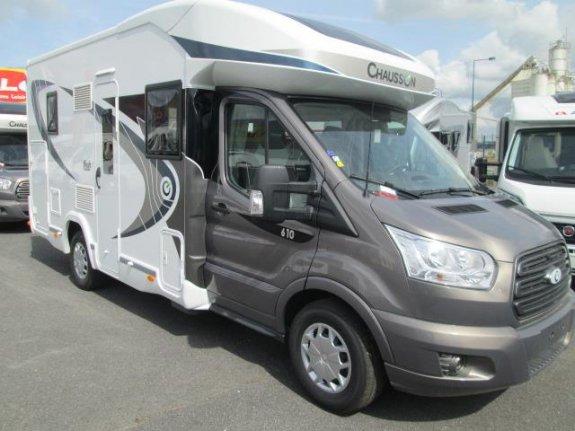 chausson welcome 610 occasion annonces de camping car en vente net campers. Black Bedroom Furniture Sets. Home Design Ideas