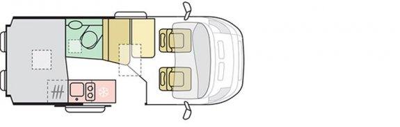 Adria Twin 540 Sp Plus