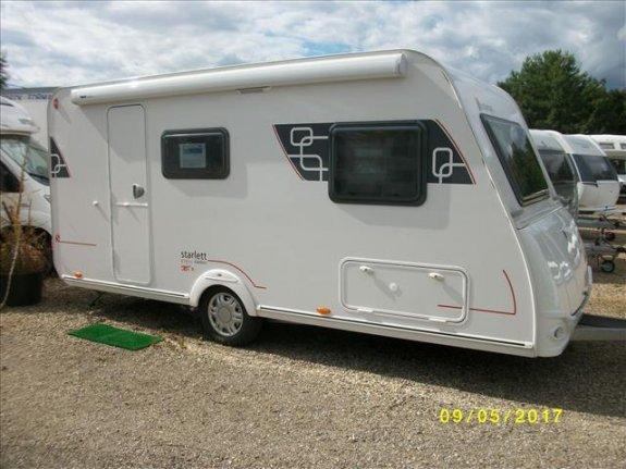 achat caravane / mobil home Sterckeman Starlett 470 PE CLC ALSACE