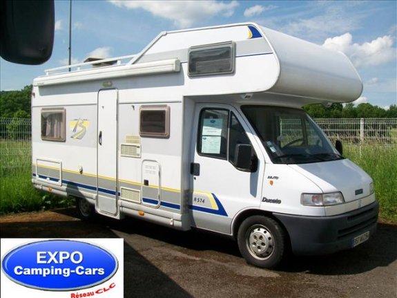 achat  Burstner A 574 EXPO CAMPING-CAR