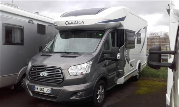 achat  Chausson Flash 610 Limited Edition EXPO CAMPING-CAR