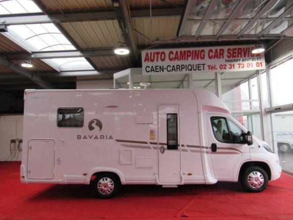 achat  Bavaria T 706 C Style AUTO CAMPING CAR SERVICE