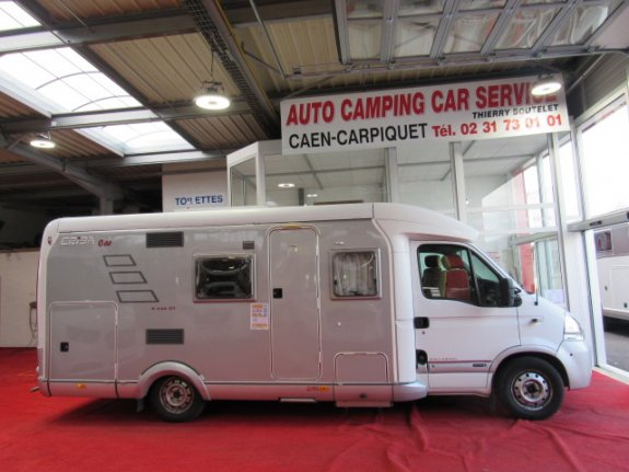 achat escc Eriba 646 GT AUTO CAMPING CAR SERVICE