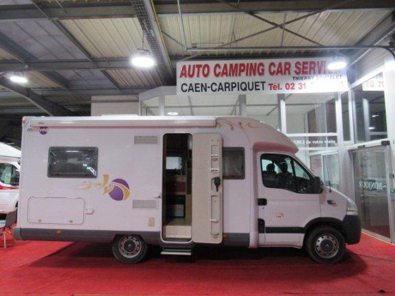 achat escc Mooveo P 660 AUTO CAMPING CAR SERVICE