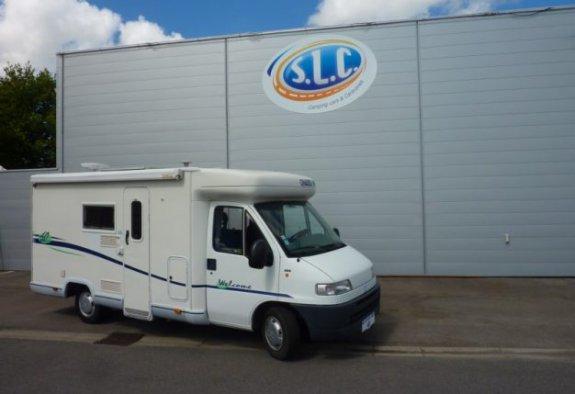 achat  Chausson Welcome 60 SLC 44 - LE MONDE DU CAMPING-CAR
