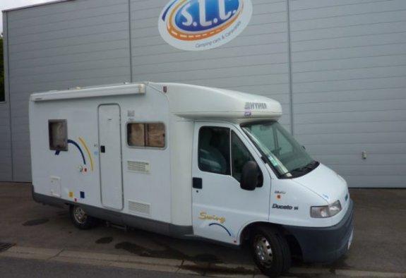 achat  Hymer Swing 585 SLC 44 - LE MONDE DU CAMPING-CAR