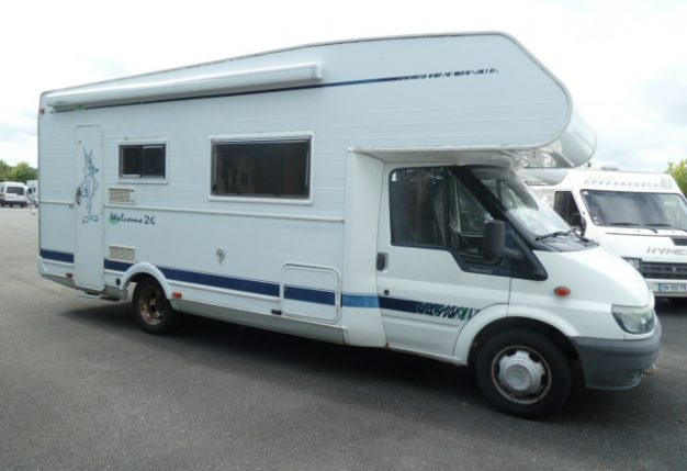 chausson welcome 26 occasion  porteur ford transit 2 4 td