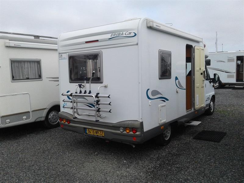 hymer eriba 596 occasion porteur fiat ducato 2 8l td 127ch diesel camping car vendre en cotes. Black Bedroom Furniture Sets. Home Design Ideas