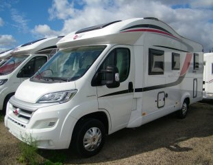 achat  Burstner Ixeo Time It 700 ILE DE FRANCE CAMPING CAR