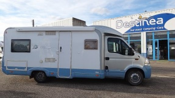 achat  Burstner Delfin T 680 SUD OUEST CAMPING CARS