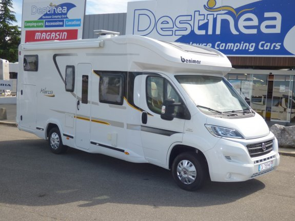 achat  Benimar Mileo 253 TOULOUSE CAMPING CARS