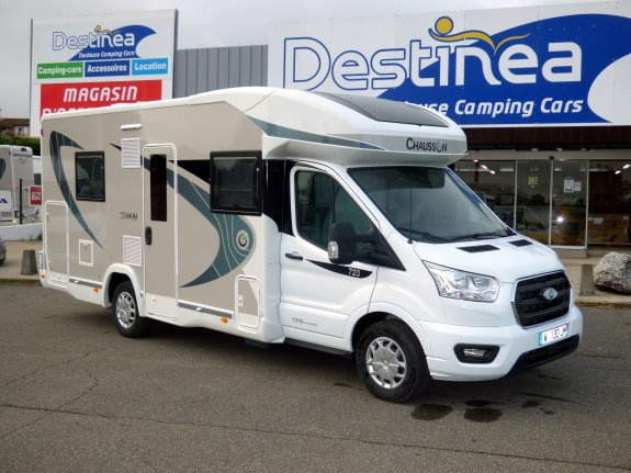 achat  Chausson Titanium 720 TOULOUSE CAMPING CARS
