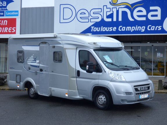 achat  Eriba 596 GT TOULOUSE CAMPING CARS