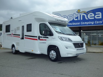autostar p 730 lc privilege neuf porteur fiat 2 3l 130 cv camping car vendre en haute. Black Bedroom Furniture Sets. Home Design Ideas