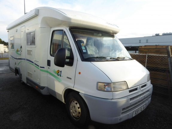 achat  Chausson Odyssee 81 CAMPING CAR RENT