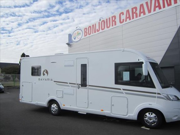 achat  Bavaria I 740 C Style BONJOUR CARAVANING 22