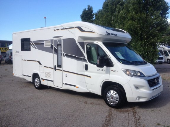 achat  Benimar Mileo 296 NARBONNE CAMPING CARS