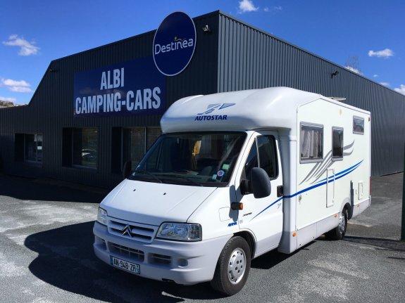 achat  Autostar Athenor 458 Aldea ALBI CAMPING CARS