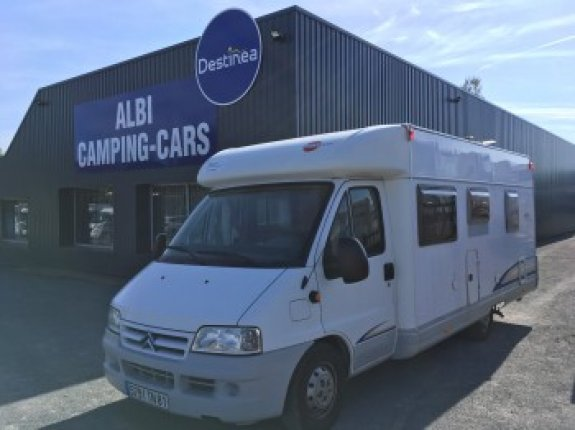 achat  Burstner T 615 Privilege ALBI CAMPING CARS