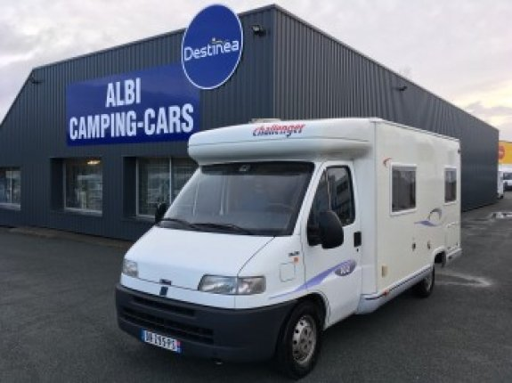 achat  Challenger 102 ALBI CAMPING CARS