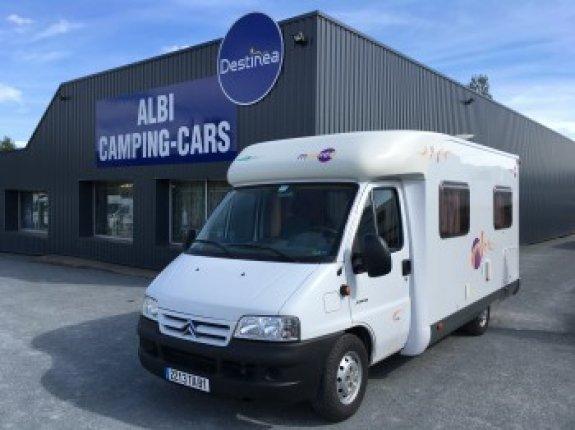 achat escc Mooveo P 609 ALBI CAMPING CARS