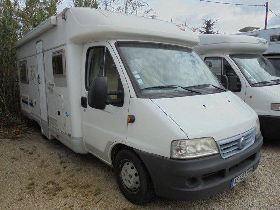 burstner t 603 occasion porteur fiat 2 8 jtd 127 cv camping car vendre en bouches du rhone. Black Bedroom Furniture Sets. Home Design Ideas