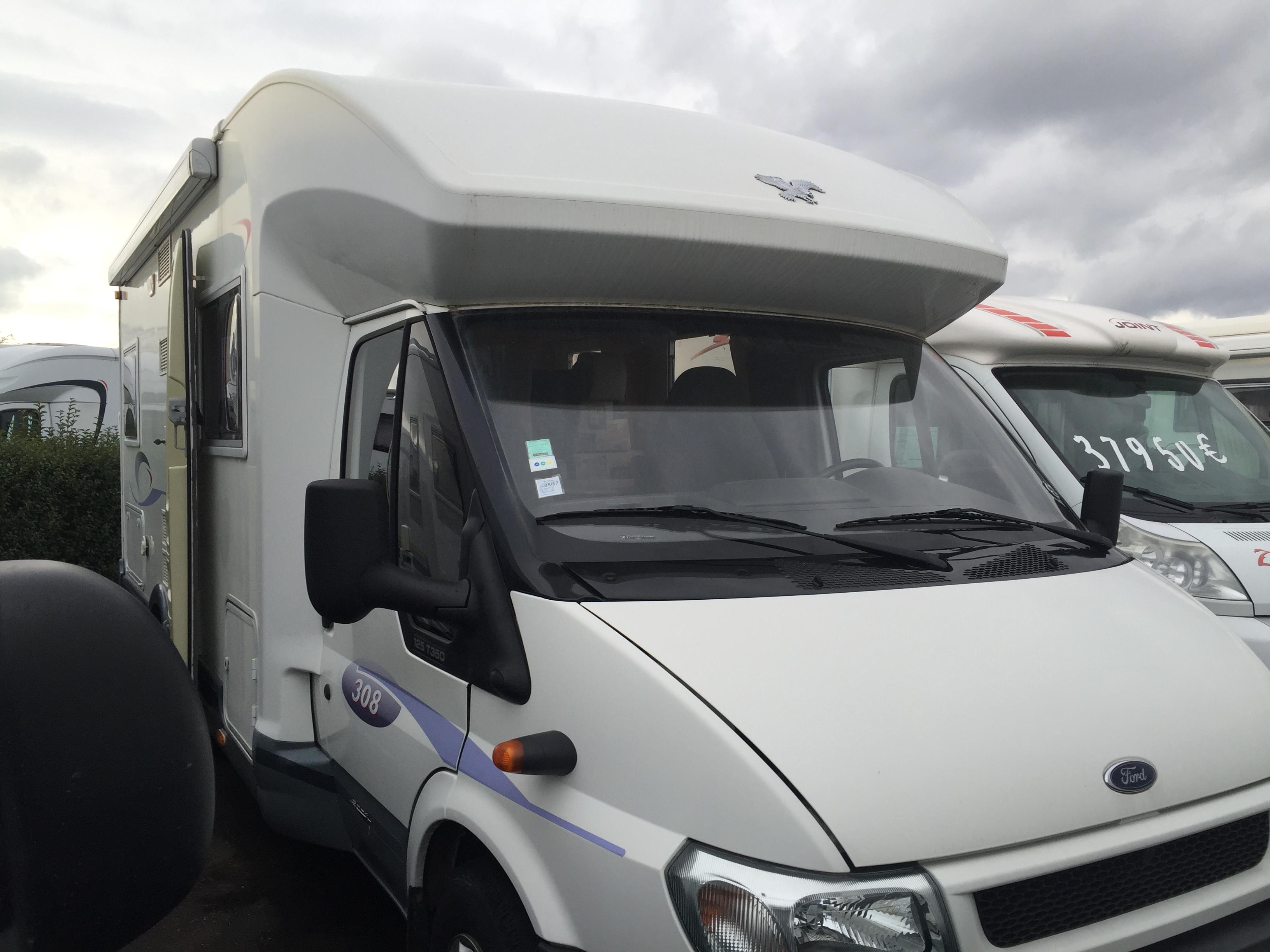 challenger 308 occasion porteur ford 2 4 l 125 cv camping car vendre en rhin 67 ref. Black Bedroom Furniture Sets. Home Design Ideas