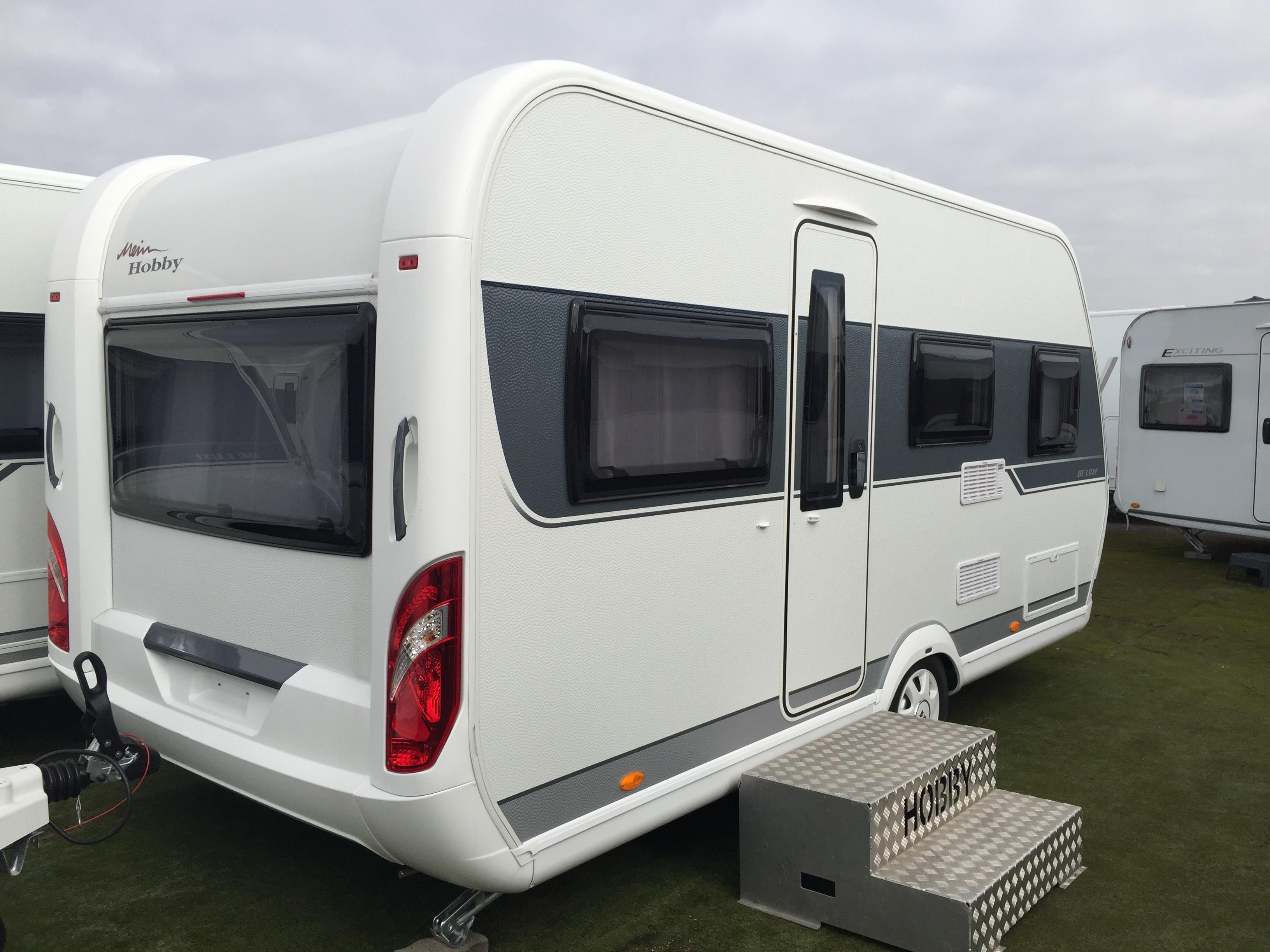 hobby 455 uf de luxe neuf caravane vendre en rhin 67 ref 9026 net campers. Black Bedroom Furniture Sets. Home Design Ideas