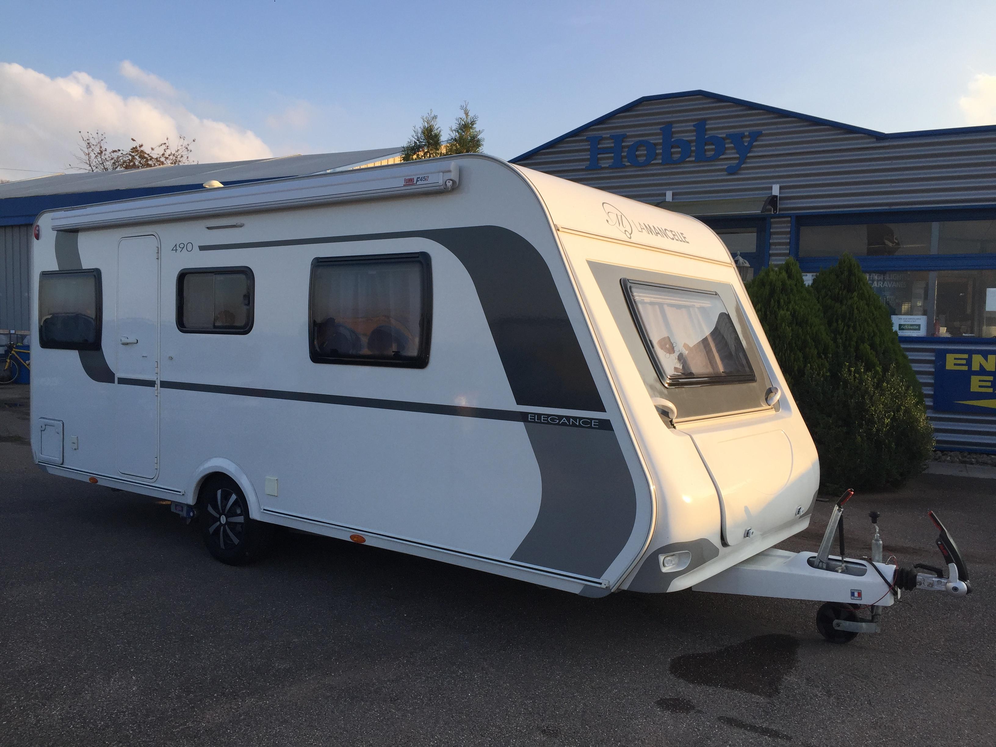 la mancelle 490 sa elegance occasion caravane vendre en rhin 67 ref 13038 net campers. Black Bedroom Furniture Sets. Home Design Ideas